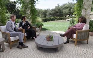Meghan Markle v intervjuju z Oprah Winfrey šokirala z razkritjem, da je zaradi rasizma razmišljala tudi o samomoru
