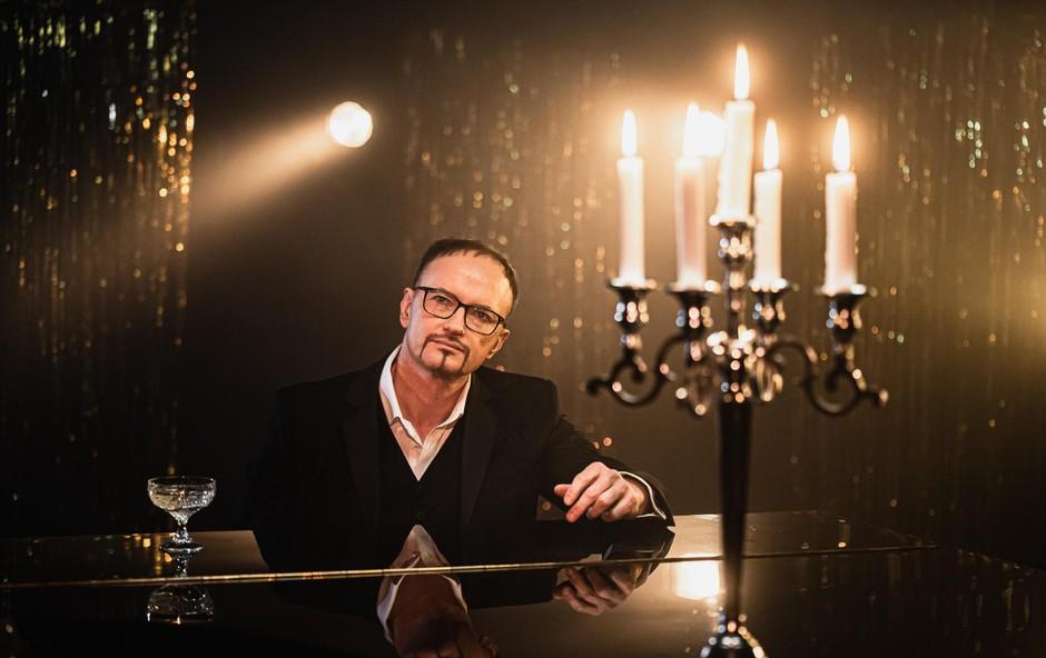 Glasbenik Rudolf Gas: Samo brez kompromisov! (foto: Foto: Foto Luka Rudman)