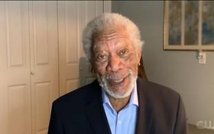 """Morgan Freeman: """"Tukaj sem, da vam povem, da verjamem v znanost!"""""""