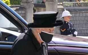 Pogreb princa Philipa: Na ulicah britanskih mest so se ljudje ustavili in se sklonjenih glav poklonili princu