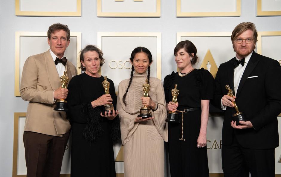 Na Oskarjih slavil film Dežela nomadov (foto: Profimedia)
