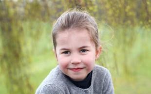 Je mala princesa Charlotte bolj podobna babici Diani ali pababici Elizabeti II? Mnenja se krešejo, vi pa presodite sami