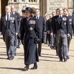 Princesa Anne, princi Andrew, William, Edward in Harry. (foto: Foto: Profimedia Profimedia)