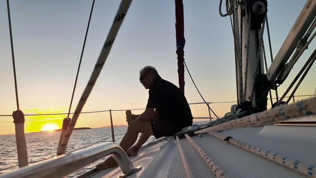 """""""Oceani so veliki in za jadranje prek Atlantika sem potreboval 15 dni in noči, za Tihi ocean, ki je večji, sem potreboval od Paname do Markeških otokov celih 40 dni in noči skupaj."""" (foto: Foto: Arhiv)"""