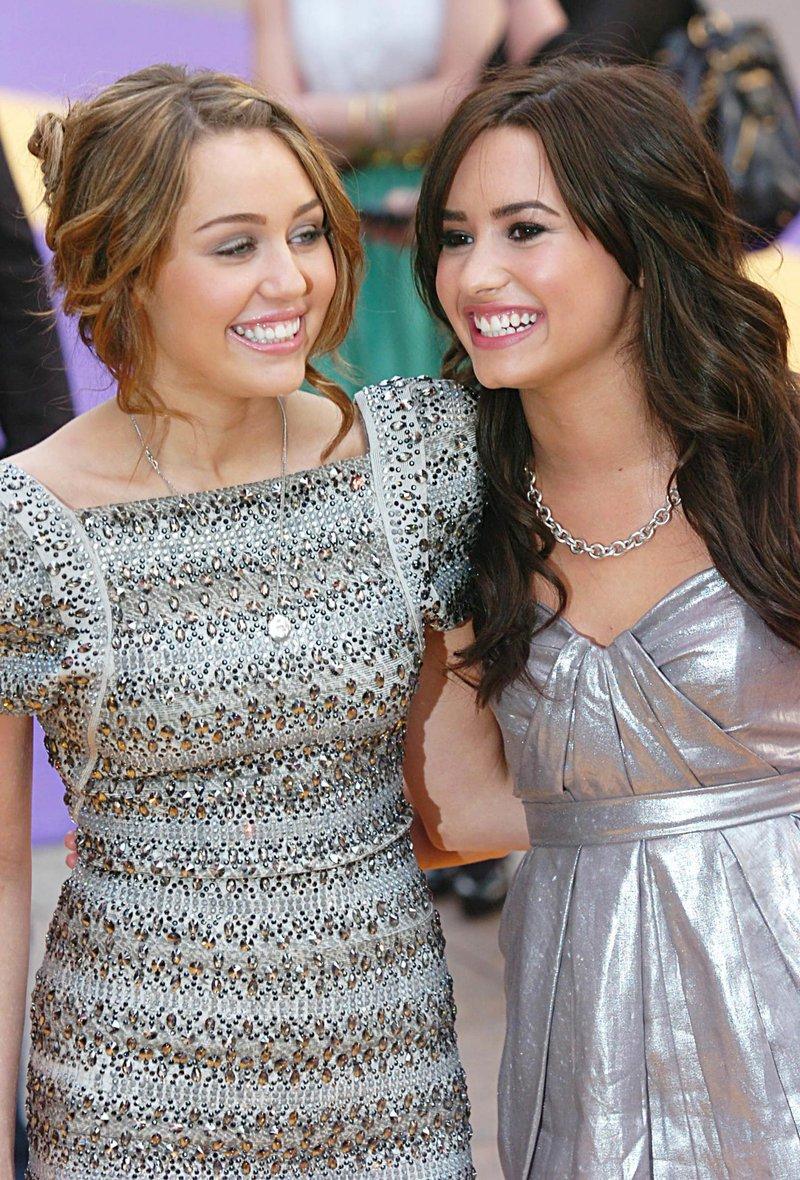 Miley in Demi