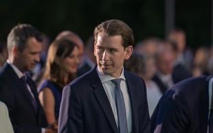 Avstrijski kancler Sebastian Kurz bo postal očka