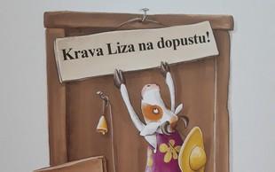 Krava Liza na dopustu (zabavna in poučna slikanica Mojiceje Bonte)