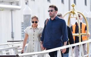 Jennifer Lopez in Ben Affleck na rdeči preprogi ponovno izgledala preprosto čudovito