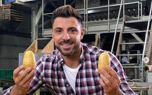 Ta teden na Instagramu: Sanjski moški s krompirjem, Jan Plestenjak z novim albumom in Primož Roglič z rokerji